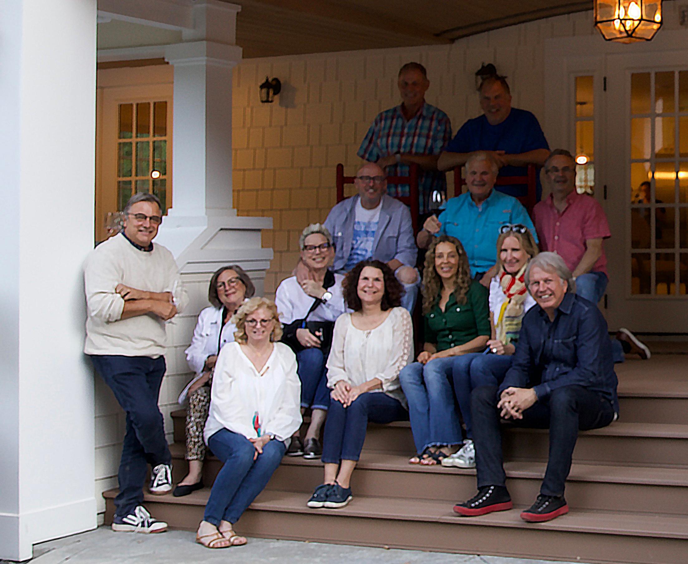 7 celebrity texas chefs at Karen Crouse's Farmouse